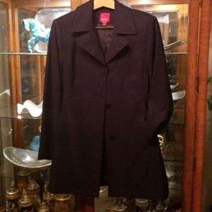 ESPRIT black trench coat, size XL